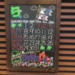 長野, 車検, 手書き, カレンダー